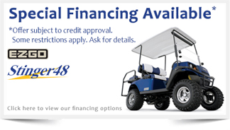 Golf Car Financing