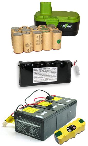battery pack rebuilding