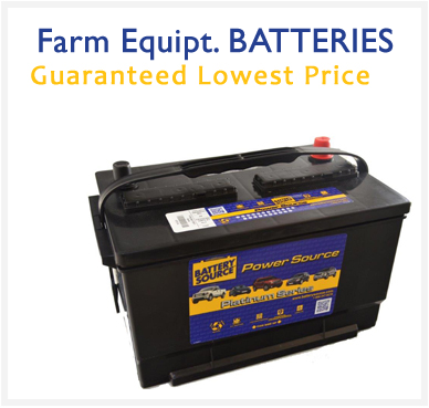 Farm Equipment batteries