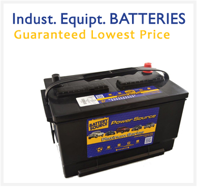 Industrial Equipment batteries