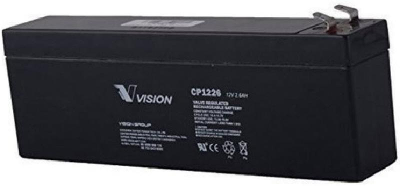 Image of CP1226 12V 2.6Ah AGM Battery